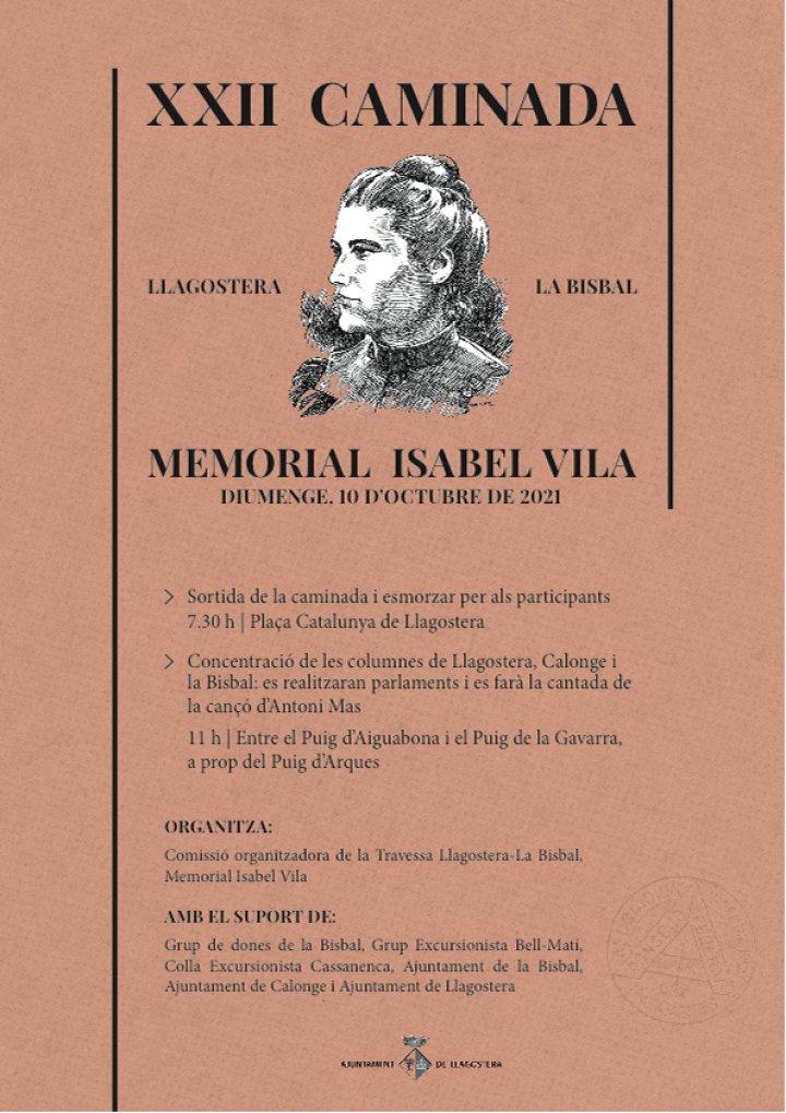 XXII Caminada Isabel Vila