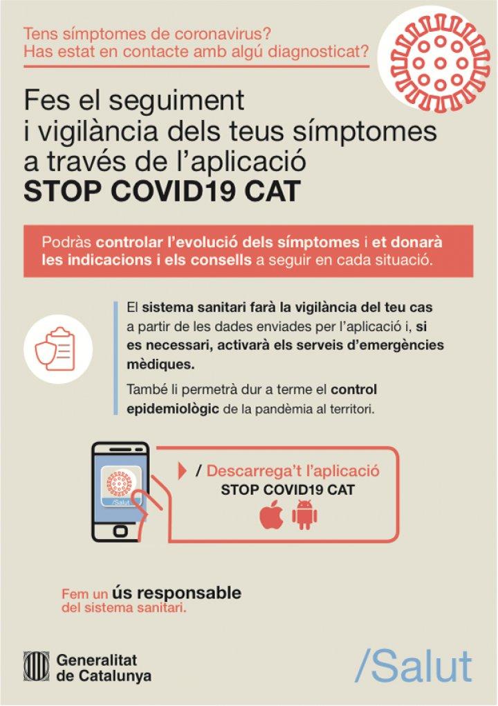 App STOP COVID19 CAT