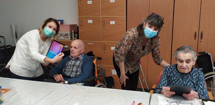 Test de coronavirus amb resultat negatiu a tots els interns de la Residència Josep Baulida