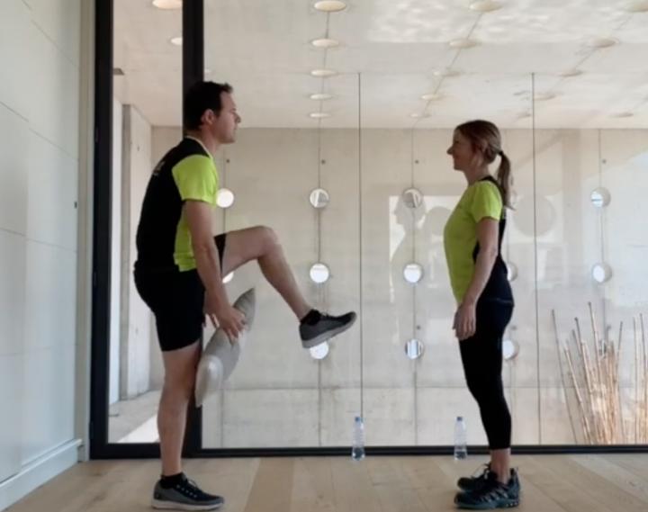L'equip de Dipsalut ens comparteix una sèrie d'exercicis per fer a casa